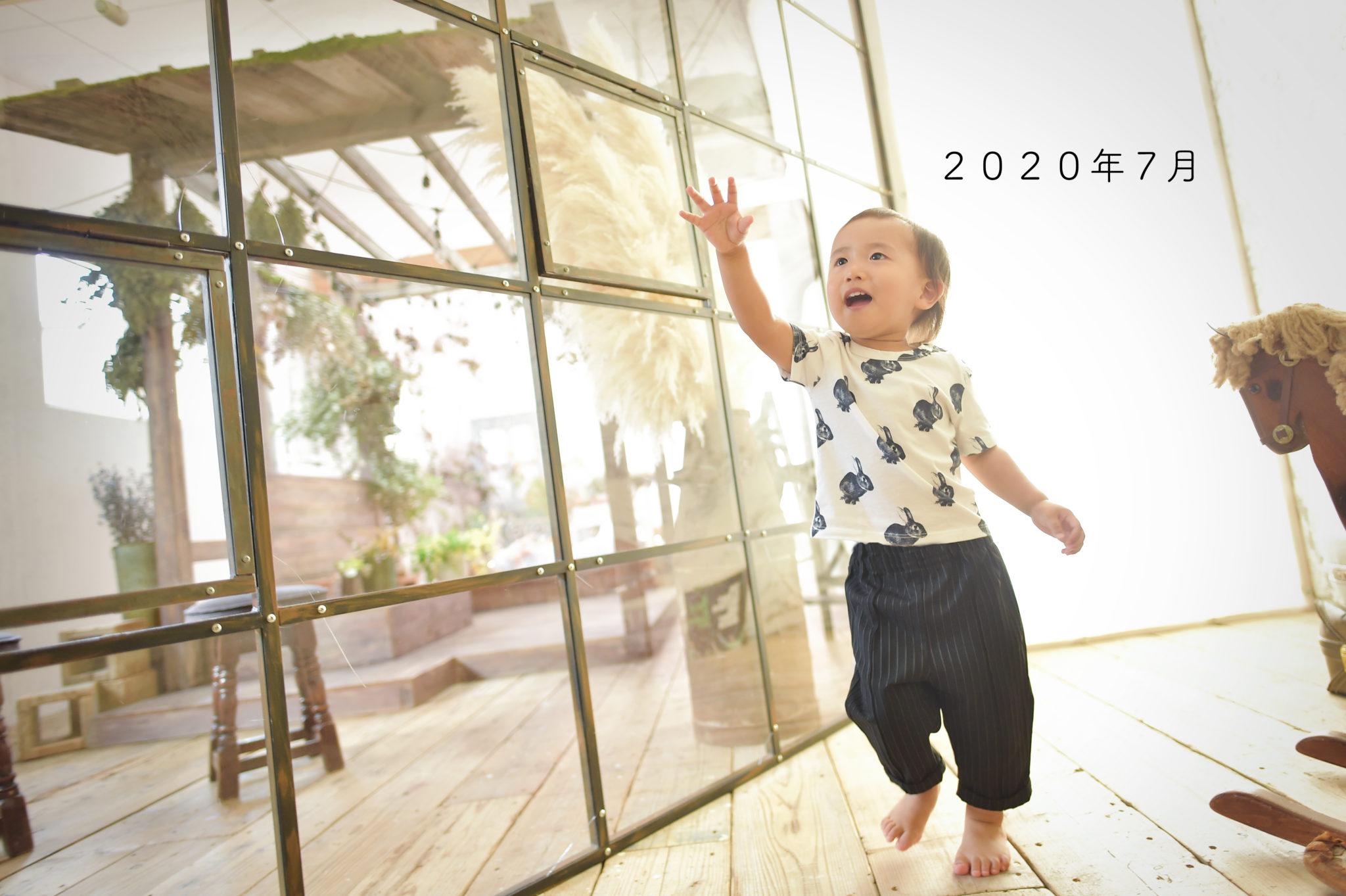宝塚市 バースデー 写真館 フォトスタジオ スタジオオレンジモンテシート