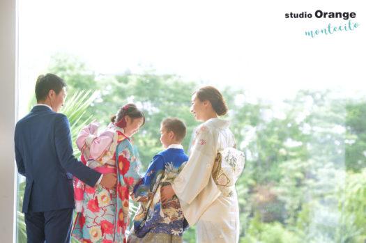 宝塚市 七五三 7歳 5歳 ママ着物