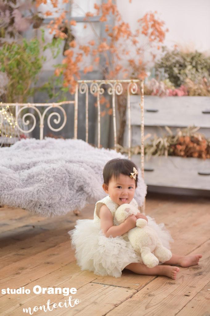 宝塚市 お誕生日 白いドレス 持ち込み ぬいぐるみ