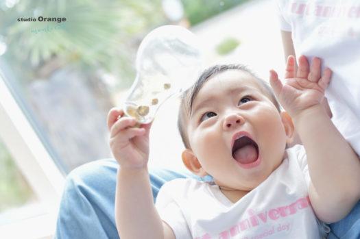 1歳バースデー 女の子 生駒市 お揃いTシャツ