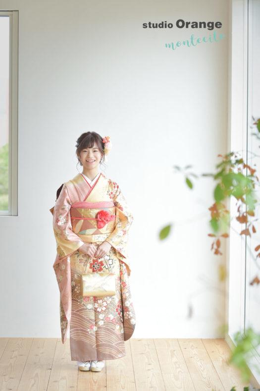 宝塚市 成人式 写真館 フォトスタジオ スタジオオレンジモンテシート