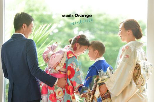 宝塚市 七五三 家族撮影 写真館 フォトスタジオ スタジオオレンジモンテシート