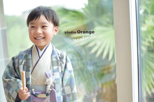 宝塚市 七五三 袴 写真館 フォトスタジオ スタジオオレンジモンテシート