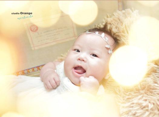 赤ちゃん 女の子 ベビードレス 白のドレス カチューシャ