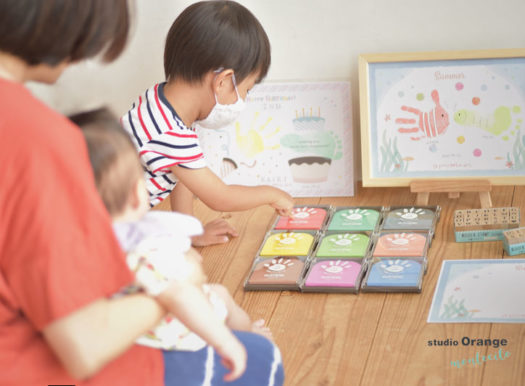 petapeta-art 手形アート教室 オレンジフェス