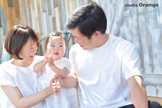 池田市 お誕生日フォト 1才女の子
