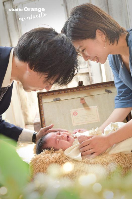 大阪市 中山寺 お宮参り 生後2ヶ月女の子