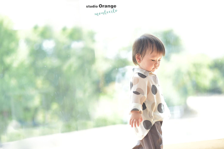 宝塚市 お誕生日フォト 1才男の子