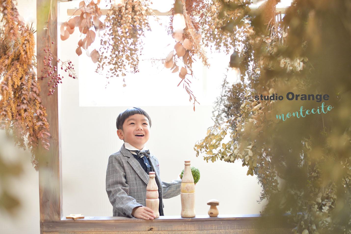 宝塚市 七五三 5才男の子