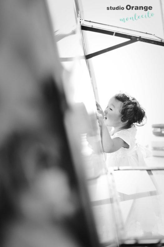 七五三 宝塚市 写真館 フォトスタジオ スタジオオレンジモンテシート 被布 着物