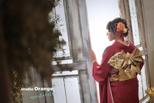 宝塚市 成人式 振袖 スタジオオレンジモンテシート 写真館 フォトスタジオ