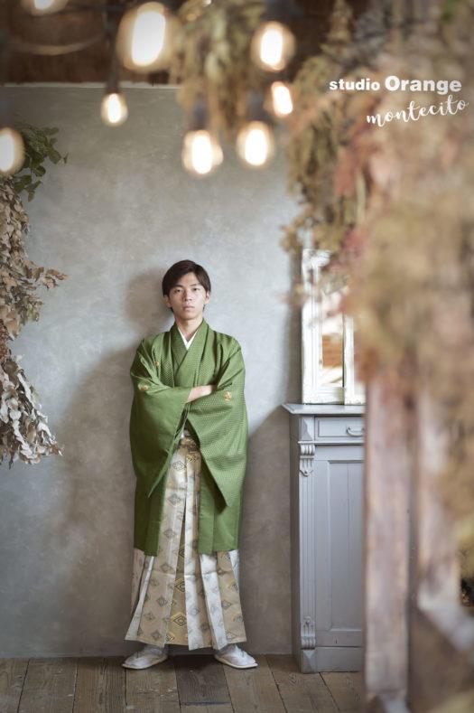 成人式 男性 羽織袴