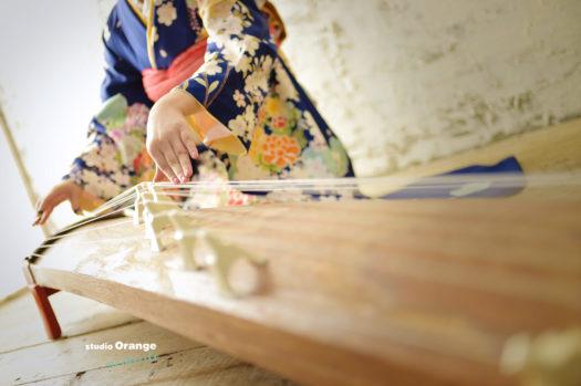 成人式 宝塚 宝塚成人式 写真館 フォトスタジオ 琴 スタジオオレンジモンテシート