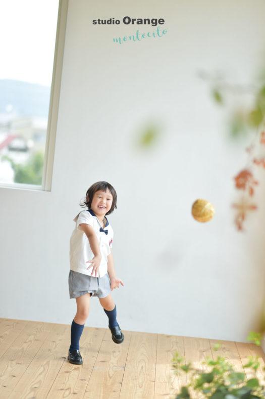 宝塚市 入園記念 幼稚園 保育園 写真撮影
