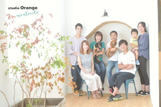 家族写真 犬 ペット
