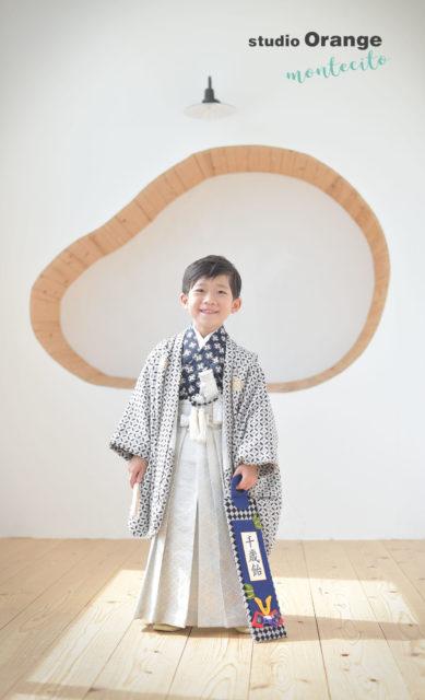 池田市 七五三 写真撮影 5才男の子