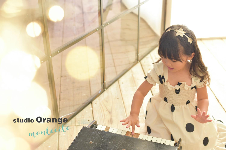 箕面市 七五三 3歳女の子 新作ドレス