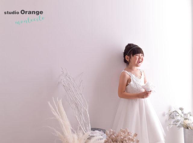 宝塚市 バースデー 洋装 白ドレス