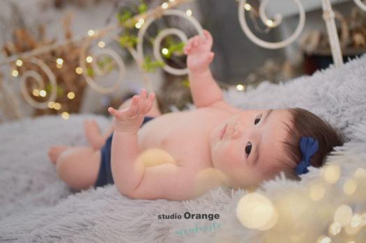 京都市 ハーフバースデー 6ヶ月女の子