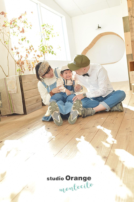 大阪市 バースデーフォト 2歳 リンクコーデ