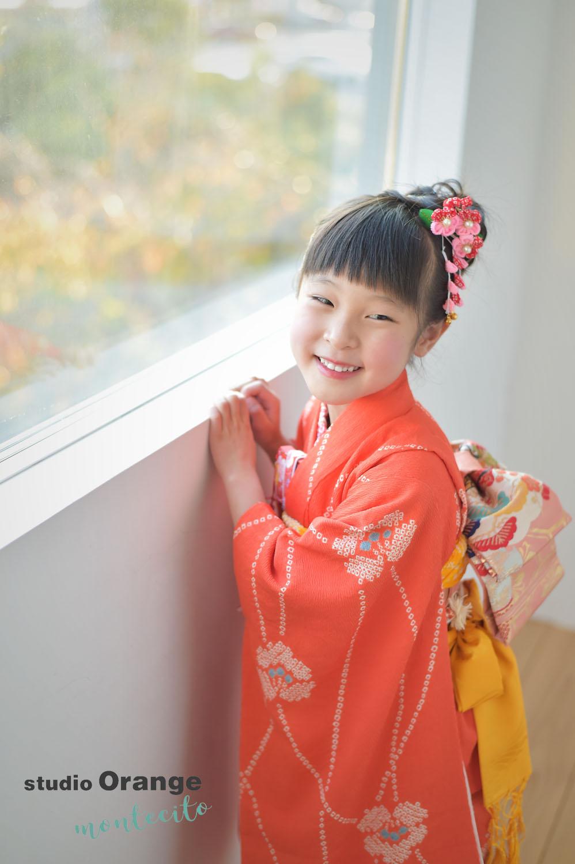 宝塚市 七五三 7歳 持ち込み着物