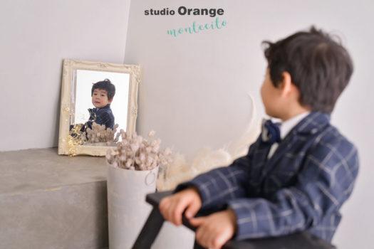 伊丹市 3歳男の子七五三 撮影後お参り