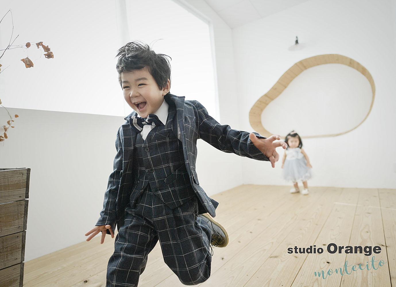 伊丹市 3歳男の子七五三 撮影後七五三お参り