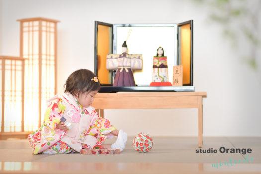 宝塚市 ひな祭りフォト 桃の節句