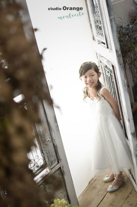 川西市 7歳七五三 兄弟も着物で撮影