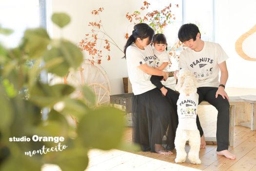 大阪市 自然な家族写真 ファミリーフォト