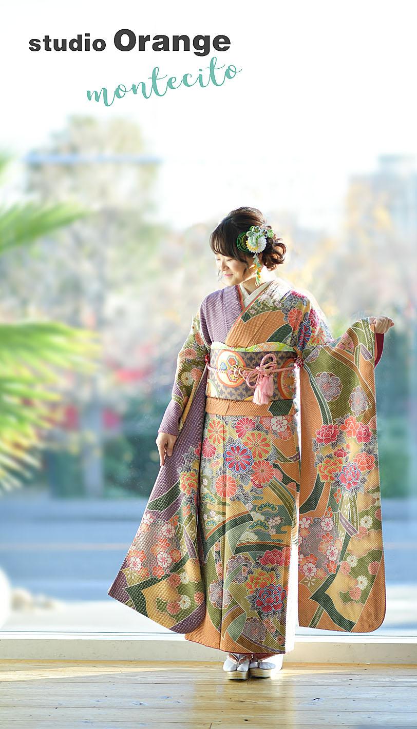 宝塚市 成人式写真 自然な写真