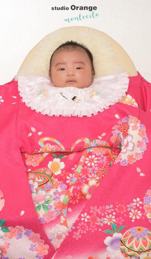 大阪市 お宮参り 生後一ヶ月女の子