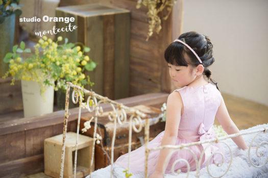 川西市 バースデーフォト お誕生日記念 5歳女の子