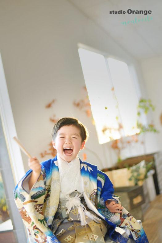 川西市 七五三 5歳男の子 和装