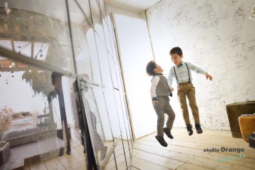 七五三 川西市 洋装 フォトスタジオ スタジオオレンジモンテシート 写真館