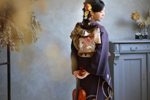 宝塚市 成人式 ヴァイオリン 楽器持ち込み