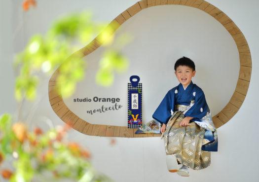 宝塚市 七五三 五歳男の子 着物