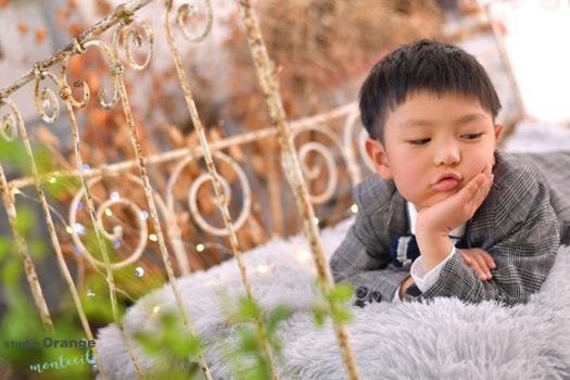 宝塚市 七五三 五歳男の子 洋装