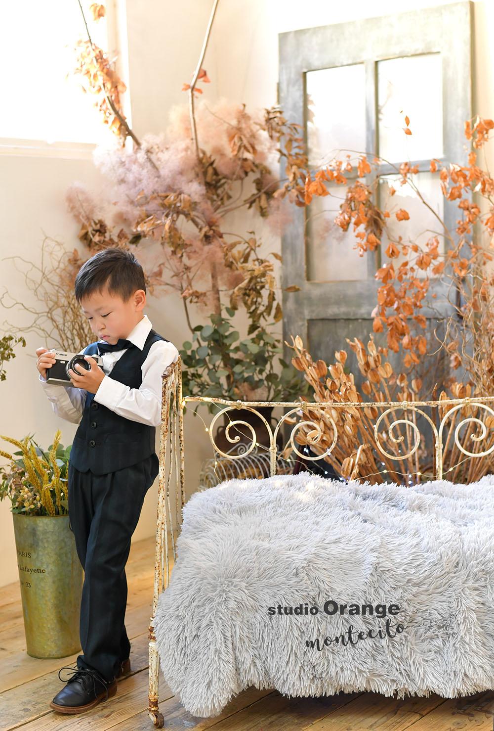川西市 七五三 5歳男の子 洋装