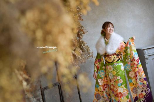 宝塚市成人式 新成人 振袖 写真館 フォトスタジオ スタジオオレンジモンテシート