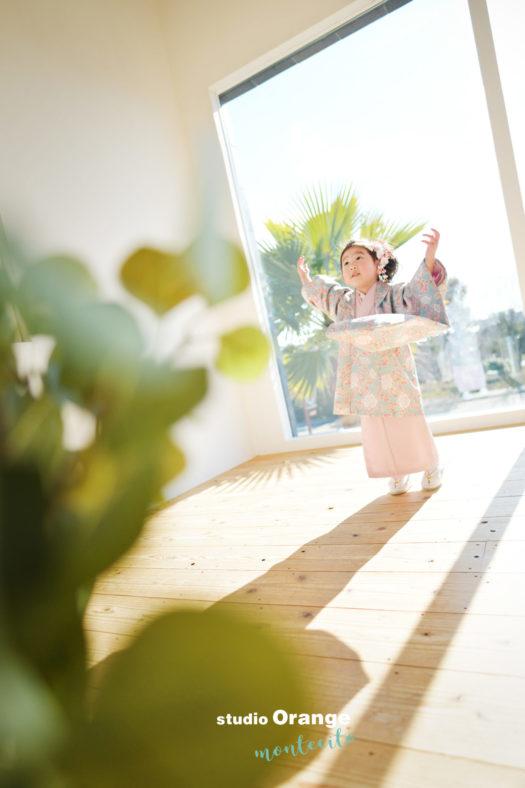 大阪市 宝塚市 七五三 写真館 フォトスタジオ スタジオオレンジモンテシート
