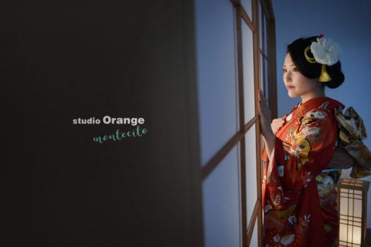 成人 宝塚市 成人後撮り フォトスタジオ 写真館 振袖 スタジオオレンジモンテシート