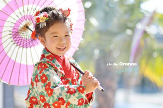 七五三 宝塚市 写真館 フォトスタジオ 和装 スタジオオレンジモンテシート