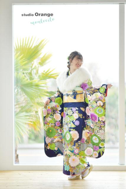 宝塚市 成人式 振袖 写真館 フォトスタジオ スタジオオレンジモンテシート