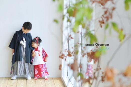宝塚市 七五三 持ち込み着物 写真館 フォトスタジオ スタジオオレンジモンテシート
