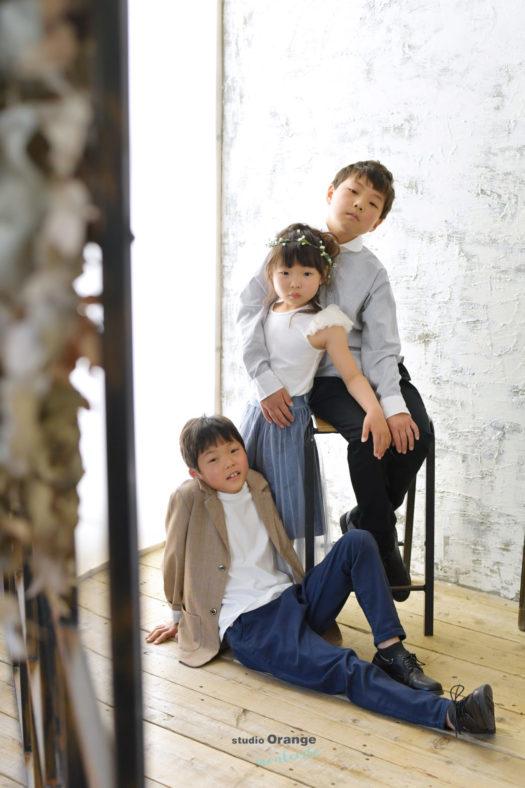 七五三 宝塚市 洋装 写真館 フォトスタジオ スタジオオレンジモンテシート