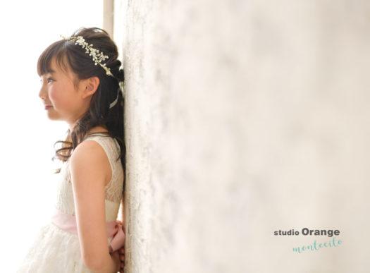 宝塚市 写真館 洋装10歳記念 2分の1成人式