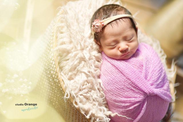 ニューボーン 赤ちゃん グルグル巻き