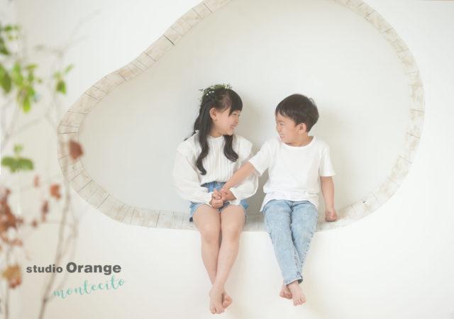 宝塚市 写真館 スタジオオレンジモンテシート 入学 ランドセル