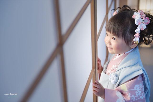 宝塚市 七五三 着物 フォトスタジオ 写真館 スタジオオレンジモンテシート